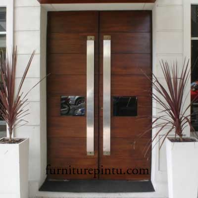 Ciri Utama Pintu Minimalis Kupu Tarung