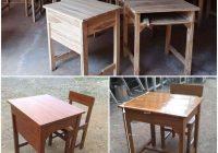 Macam-macam Bentuk Meja Siswa Masa Kini